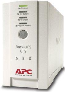 APC Back UPS CS 650VA(400W) USB+RS232