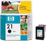 HP inkoustová cartridge černá C9351AE, č. 21