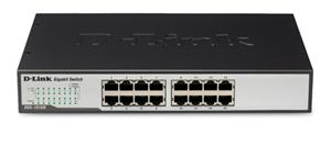D-LINK DGS-1016D, Switch 16-port UTP (16x10/100/1000)