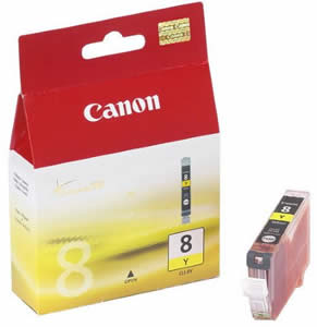 Canon inkoustová cartridge Yellow CLI-8Y