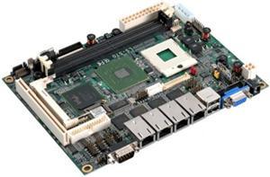 """Commell LS-570 Socket M/FCPGA478,VGA,DVI,4xGbe,2xSATA,2xUSB,PCI,mini PCI,DRR2/667,5.25"""""""