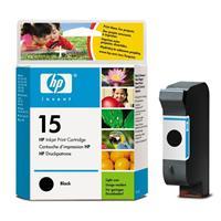 HP inkoustová cartridge černá C6615DE, č. 15