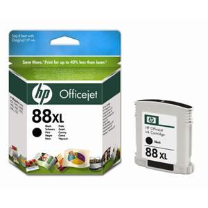 HP inkoustová cartridge černá C9396AE, č. 88XL