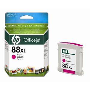HP inkoustová cartridge Magenta C9392AE, č. 88XL