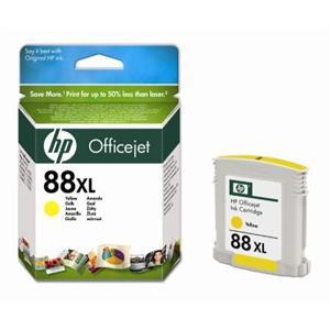 HP inkoustová cartridge Yellow C9393AE, č. 88XL