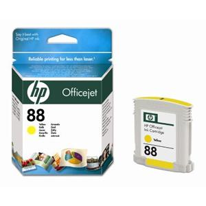 HP inkoustová cartridge Yellow C9388AE, č. 88