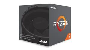 AMD Ryzen 3 1300X-3.4GHz (4core,10MB Cache,socket AM4,65W,14nm) BOX, chadič Wraith Cooler