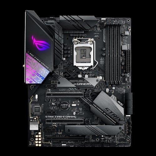 ASUS ROG STRIX Z390-E GAMING 1151/Z390,Wifi,HDMI,DP,Gbe,3xPCI-e  3 0/16/8/4,6xSATA3/R,2xM 2Soc3,USB3 1A+C,4xDDR4/4266,ATX
