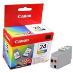 Canon inkoustová cartridge Color BCI-24C (twin pack)