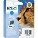 Epson inkoustová cartridge azurová T0712 DURABriteUltra Ink, 5,5 ml
