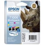 Epson inkoustová cartridge Multipack 3ink  DurabriteUltra T1006, 33,3 ml