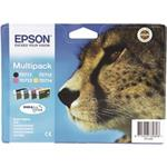 Epson inkoustová cartridge Multipack 4ink  DurabriteUltra T0715, 23,9 ml