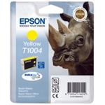 Epson inkoustová cartridge žlutá T1004 DURABriteUltra Ink, 11,1 ml