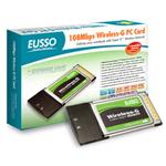 EUSSO UGL2454-01XR, Wireless 32bit PCMCIA Adapter,54/108Mbps